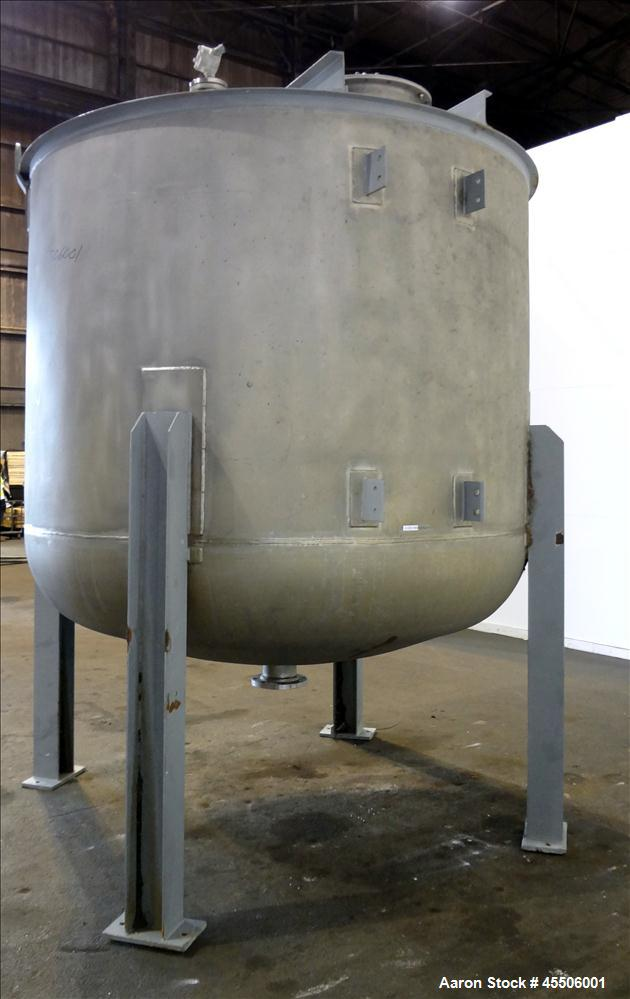 Used- 2,500 Gallon Stainless Steel Quality Containment Company Tank