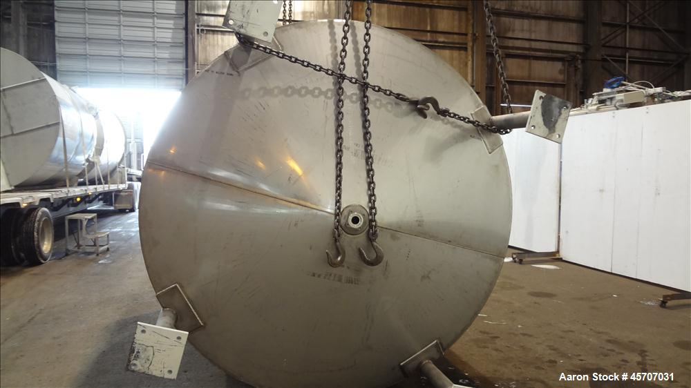 Unused- Bright Sheet Metal Tank, Approximately 4,000 Gallon