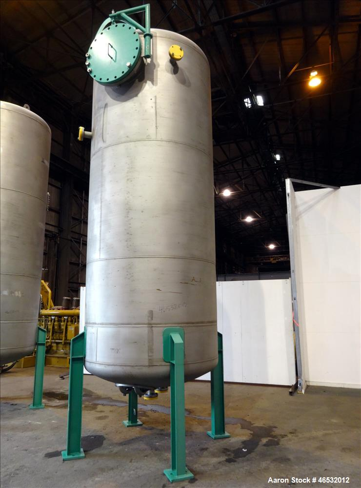 Unused- Graver Water Systems Approximate 3000 Gallon Fresh Resin Storage Vessel. Manufactured by Kennedy Tank, 304/304L stai...