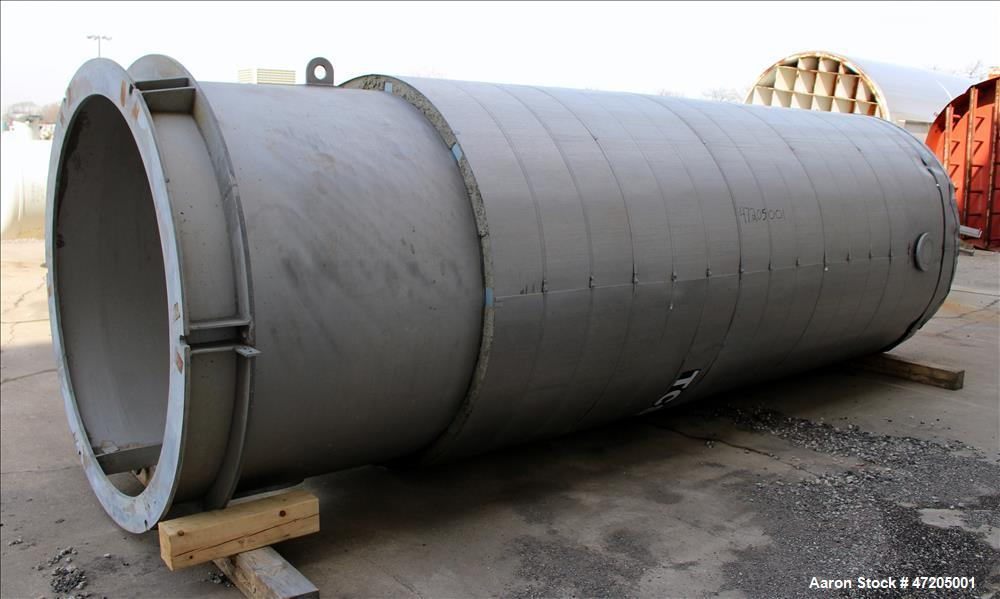 Unused- Gerhard Rauh GmbH Pressure Tank, Approximately 2,900 Gallon, 316 Stainle