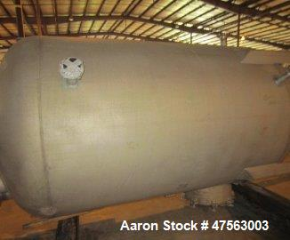 "Unused- Tank, 2,150 Gallon, 304L stainless steel. 6 diameter x 7 11"" high, vertical, dished heads. Internal rated 45 psig - ..."