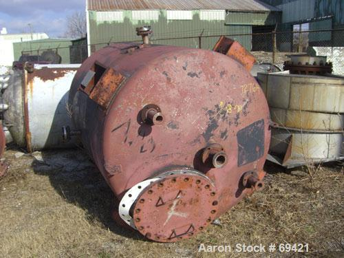 "Used: Superior Welding Co. tank, 1136 gallon, 304 stainless steel,vertical.  5' diameter x 6'9"" straight side, dish top and ..."