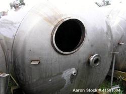 Used- Stainless Steel A-L Stainless Pressure Carbon Filter Tank