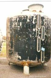 Used- 2500 Gallon Stainless Steel Tank