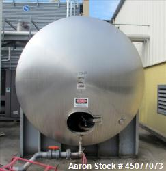 Used- 4000 Gallon Stainless Steel Viatec Storage Tank