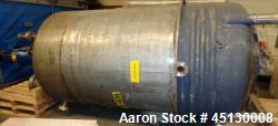 Used- 1190 Gallon Stainless Steel Services LTD Open Mixing Tank