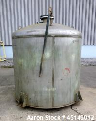 Used- Chicago Boiler Company, Approximate 1,000 Gallon, 304 Stainless Steel.
