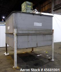G & F Manufacturing Tank, Approximately 2500 Gallons, Model T-94, 304 Stainless Steel, Vertical. 94...