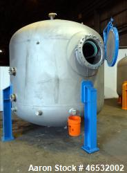 d- Graver Water Systems Approximate 4000 Gallon Mixed Bed Vessel Ion Exchange Column Tank. Manufactu...