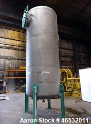 d- Graver Water Systems Approximate 3000 Gallon Exhausted Resin Storage Vessel. Manufactured by Kenn...