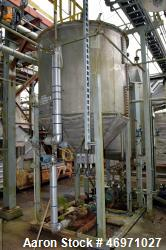 "Used- PEMCO Process Engineering & Machine Tank, Approximate 1000 Gallon, Stainless Steel, Vertical. Approximate 72"" Diameter..."