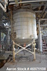"Used- Troy Boiler Works API Standard 650 Tank, 3396 Gallon, 316 Stainless Steel, Vertical. Approximate 96"" diameter x 96"" st..."