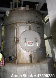 "Unused- SGS St. George Steel API Standard 650 Tank, 3,608 Gallon, 316 Stainless Steel, Vertical. Approximate 102"" Diameter x..."