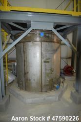 d- SGS St. George Steel API Standard 650 Tank, 2,000 Gallon, 316 Stainless Steel, Vertical. Approxim...