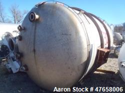 "Falco Tank, Approximately 2,500 Gallon, 304 Stainless Steel, Vertical. Approximate 89"" diameter x 1..."