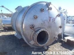 "Tank, Approximately 4,000 Gallon, 304 Stainless Steel, Vertical. Approximate 90"" diameter x 132"" st..."