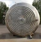 Used- 3,000 Gallon Vertical Stainless Steel Jacketed Mix Tank. 108