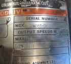 Used- Stapco Tank, 3200 Gallon, 304 Stainless Steel, Vertical. Approximately 84