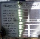 Used- 1,900 Gallon Stainless Steel Tennessee Eastman Pressure Tank