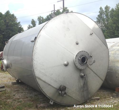 Used- 10000 Gallon Stainless Steel Tank