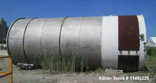 Used- 24,000 Gallon Stainless Steel  Hamilton Tank Co. Storage Tank