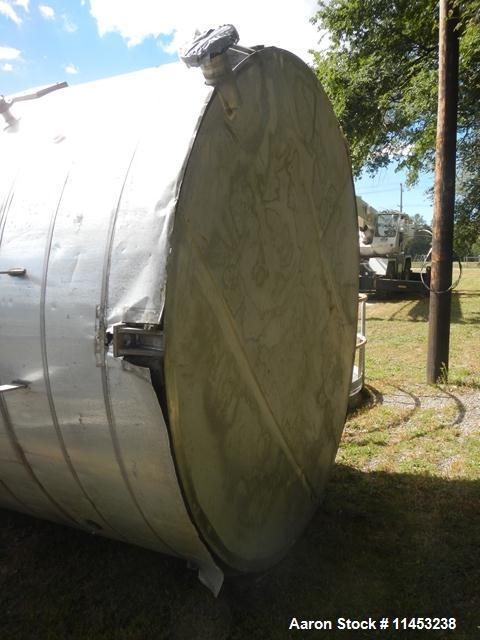 Used- 8,000 Gallon Stainless Steel  Enerfab Storage Tank