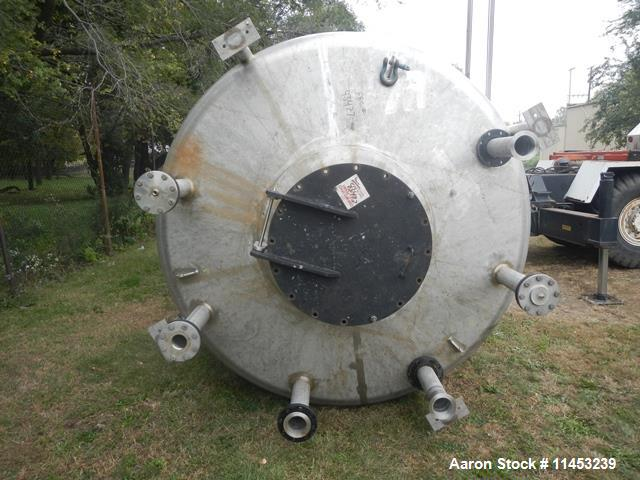 Used- 10,000 Gallon Stainless Steel Enerfab Receiver
