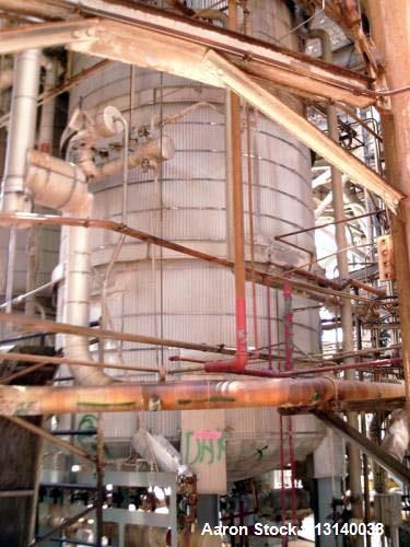 Used- Alloy Fabricators, 316L Stainless Steel Vertical Pressure Tank, 9,000 Gallon (approximately). 9' diameter x 16' high s...
