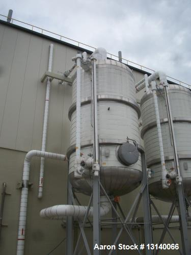 Unused- Kopetz 10,000 Gallon 304L Stainless Steel Vertical Pressure Tank