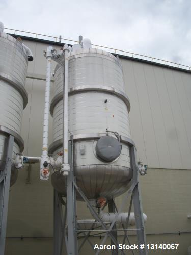 Unused- Kopetz 10,000 Gallon, 304L Stainless Steel, Vertical Pressure Tank.