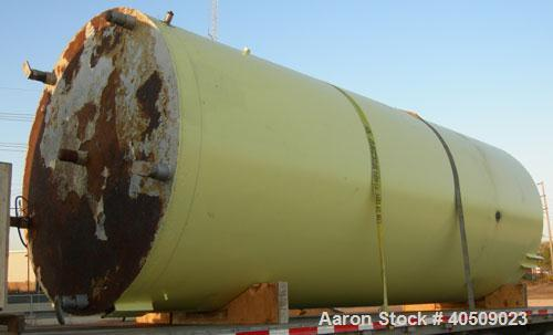 "Used- Cherry Burrell Silo Tank, 5,000 Gallon, Model SVW, 304 stainless steel, vertical. 84"" diameter x 213"" straight side, d..."