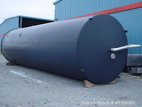 "Used- Mueller Dairy Silo, 20,000 Gallon. 120"" inner diameter (126"" OD) x 413"" straight side (474-1/2"" overall height). 7-1/2..."