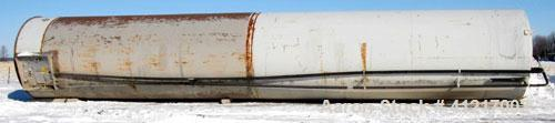"Used- Crepaco Tank Silo, 70,000 Gallon, Stainless Steel. 12'7"" Diameter x 70' OAL. 150 psi jacket."