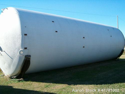 "Used- Dairy Craft Silo Tank, 30,000 Gallon, 304 Stainless Steel. Approximately 160"" diameter x 444"" straight side, dished to..."