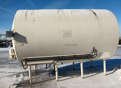 Used- 5000 Gallon Stainless Steel Cherry Burrell Storage Tank, Model EHW