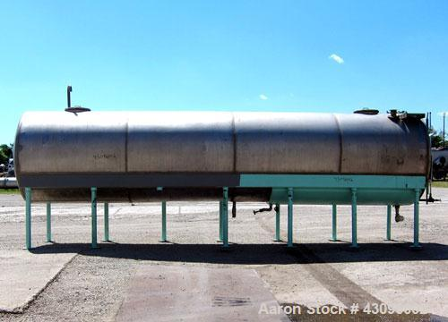 Used- 5,500 Gallon Stainless Steel Tank