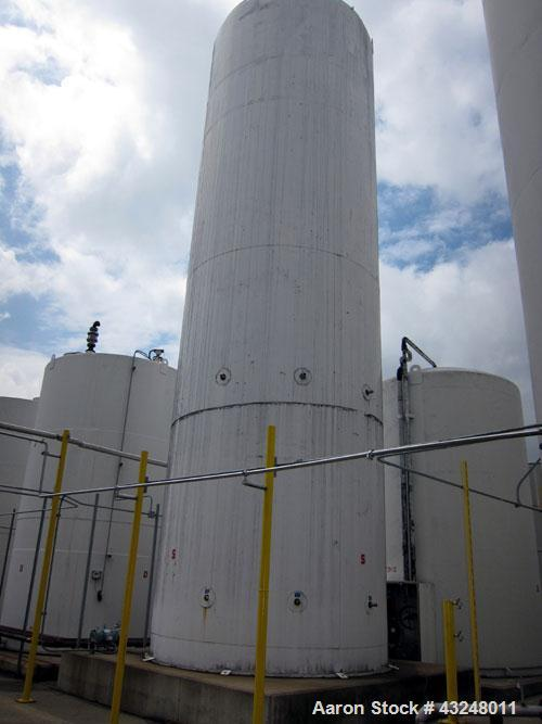 "Used- Mueller Jacketed Silo, 4009 Cubic Feet (30,000 Gallon), Model SVW, 304 Stainless Steel. Approximate 140"" Diameter x 45..."