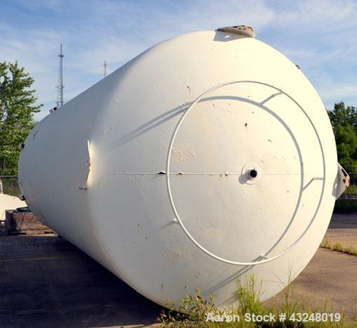 "Used- Walker Jacketed Tank, 10000 Gallon, Stainless Steel, Vertical. Approximate 120"" diameter x 240"" straight side, dished ..."
