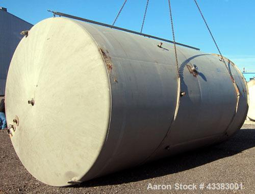 "Used- Mueller Silo Storage Tank, 10,000 Gallon, Model SVW, 304 Stainless Steel. 120"" Diameter x approximate 220"" straight si..."