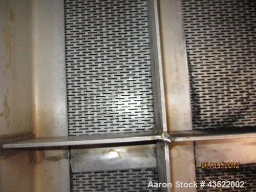 Used- 11,800 Gallon Stainless Steel Dedert Filter Tank