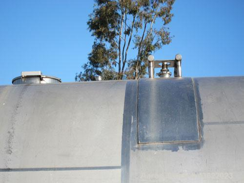 "Used- Cherry Burrell 10,000 Gallon Stainless Steel Horizontal Storage Tank. Approximately 10'6"" diameter x 14'6"" straight si..."