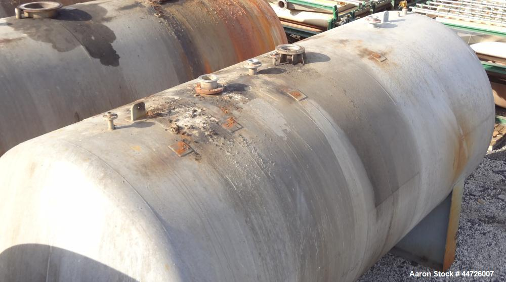 Used- 13,000 Gallon Stainless Steel Harris Pressure Tank
