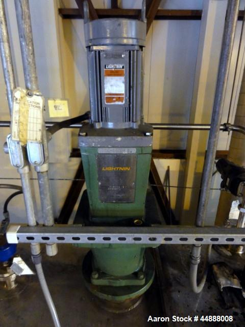 Used- 10,000 Gallon Stainless Steel Feldmeier Reactor, Model XLC-150D