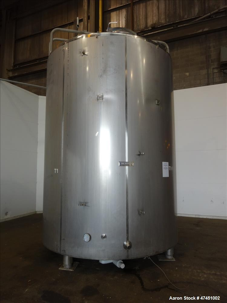 Used- Paul Mueller & Company 6,000 Gallon, Food Grade, Jacketed, Insulated and A