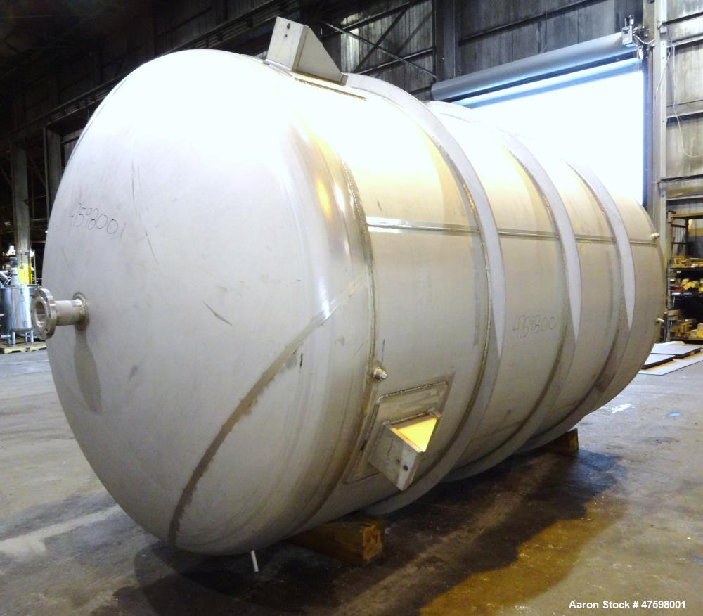 Unused- Crown Iron Works Pressure Tank, 5,497 Gallon, 304L Stainless Steel