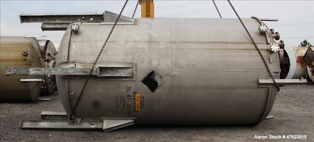 Used- Steel-Pro Inc. Tank, Approximate 10,000 Gallon, 316 Stainless Steel
