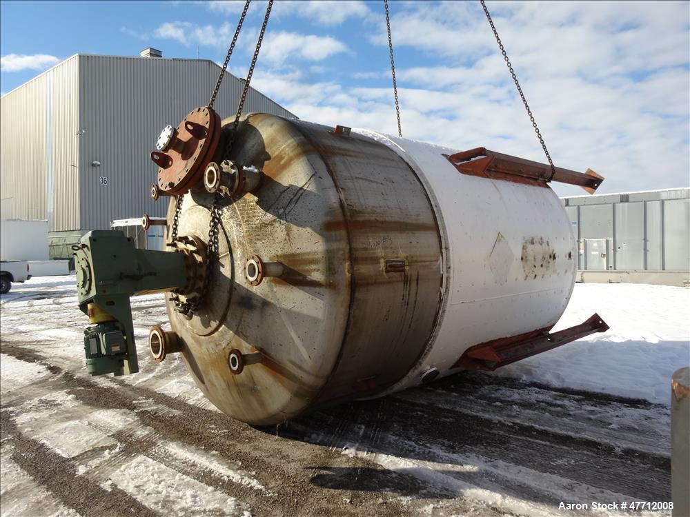 Used- J. Russell Engineering Tank, Approximate 5,900 Gallon, 316 Stainless Steel