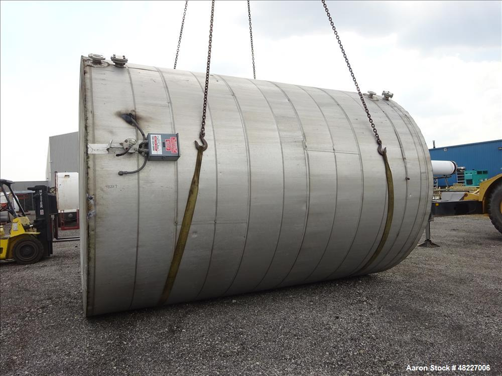 Used- Economy Single Shell Tank with Insulated Exterior, 11,000 Gallon