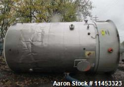 12,000 Gallon, 304 Stainless Steel Tank. 12' diameter x 16' straight side; 4' carbon steel skirt. D...