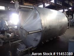 "Used- 5000 Gallon Cherry Burrell Processor. 304 stainless steel construction. Approximately 102"" diameter x 130"" straight si..."